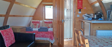 luxury glamping pods lake district cumbria