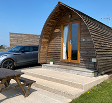 Bowscale View luxury glamping pod