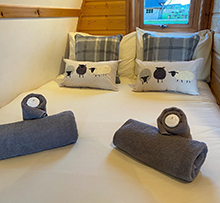 Carrock View luxury glamping pod